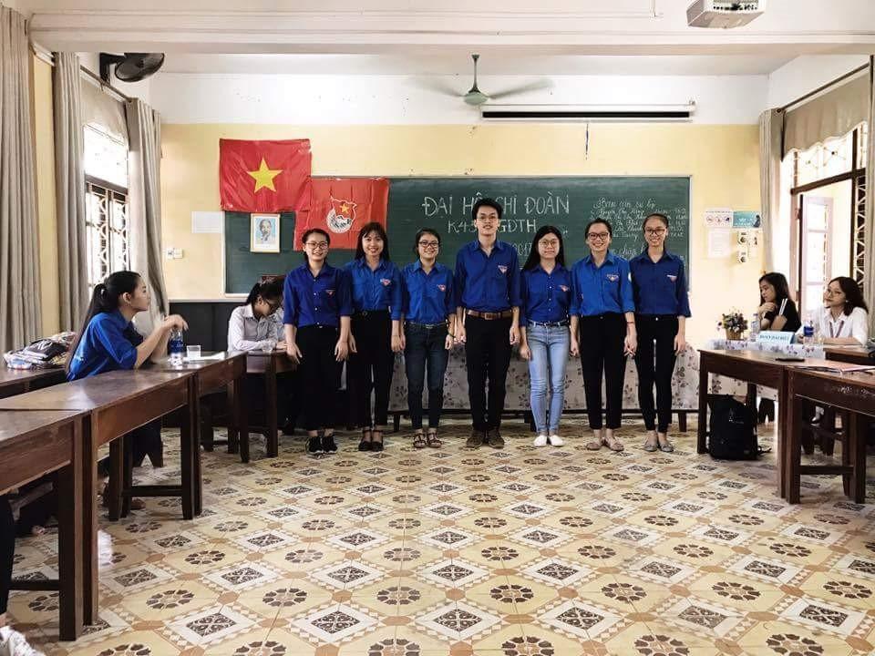 ĐẠI HỘI CHI ĐOÀN CÁC LỚP KHOA GDTH NHIỆM KỲ 2017 - 2018